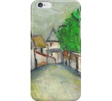 Street Scene (After Utrillo) iPhone Case/Skin