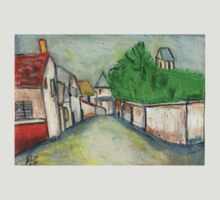 Street Scene (After Utrillo) T-Shirt