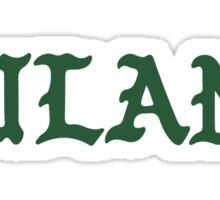 Pablo Tulane Sticker