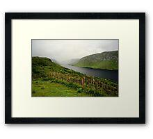 Lough Beagh at Glenveagh Castle Framed Print