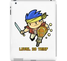 Level 20 Thief iPad Case/Skin