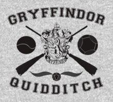 Gryffindor Quidditch (Black) by Lumos ϟ Nox