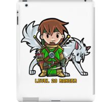 Level 20 Ranger iPad Case/Skin