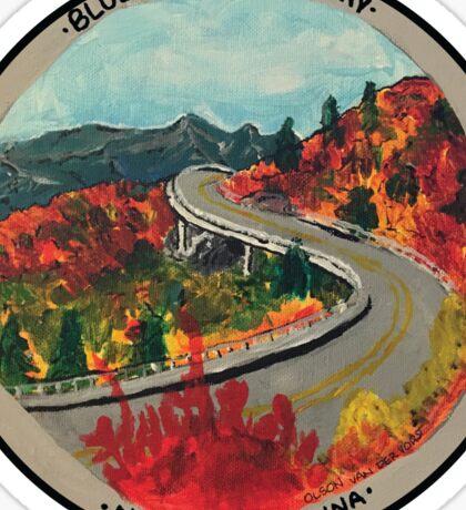 Blue Ridge Parkway- Viaduct Sticker