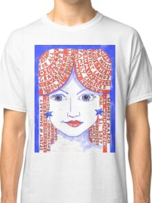 Women's March on Washington Red, White and Blue Classic T-Shirt