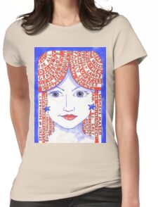 Women's March on Washington Red, White and Blue Womens Fitted T-Shirt