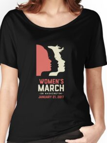 Women's March on Washington 2017 Women's Relaxed Fit T-Shirt