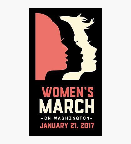 Women's March on Washington 2017 Photographic Print
