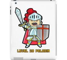 Level 20 Paladin iPad Case/Skin