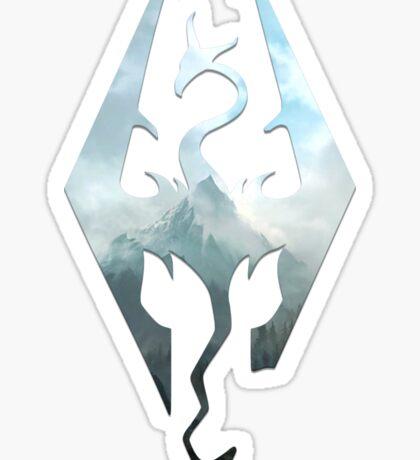 Scenic Skyrim Logo Sticker