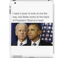 Joe Biden Funny Meme Obama T-Shirt iPad Case/Skin