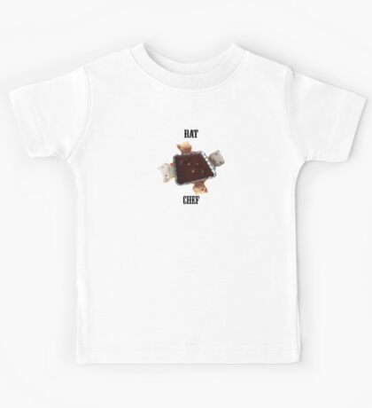 Rat Chef T-Shirt Kids Tee