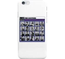 A Wibbly-Wobbly Timey-Wimey Day's Night iPhone Case/Skin