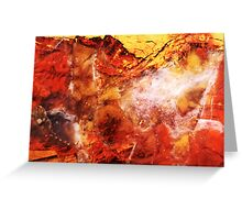 Dante's Vision (Stoney Creek Jasper) Greeting Card