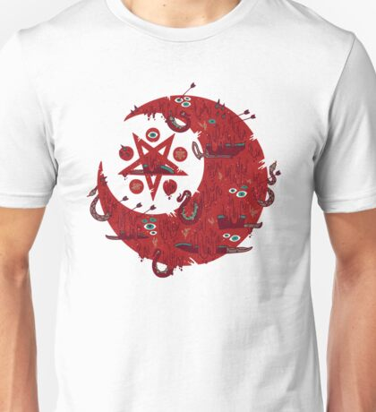 The Blood Moon Compels You to Fuck Shit Up Unisex T-Shirt