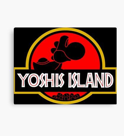 YOSHIS ISLAND V2 Canvas Print