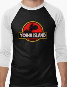 YOSHIS ISLAND V2 Men's Baseball ¾ T-Shirt