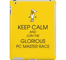 PC gaming master race iPad Case/Skin