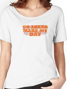 Dirty Harry Sudden Impact - Go Ahead Make My Day Women's Relaxed Fit T-Shirt
