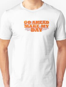 Dirty Harry Sudden Impact - Go Ahead Make My Day Unisex T-Shirt
