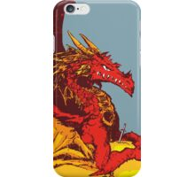 Ancient Red Dragon iPhone Case/Skin