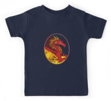 Ancient Red Dragon Kids Tee