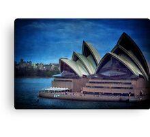 Twilight at the Opera house, Sydney Canvas Print