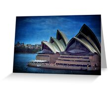 Twilight at the Opera house, Sydney Greeting Card