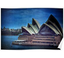 Twilight at the Opera house, Sydney Poster
