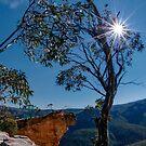 Hanging Rock, Blue Mountains, Australia by Erik Schlogl