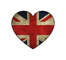 British at Heart Photographic Print