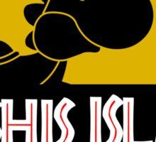 YOSHIS ISLAND Sticker