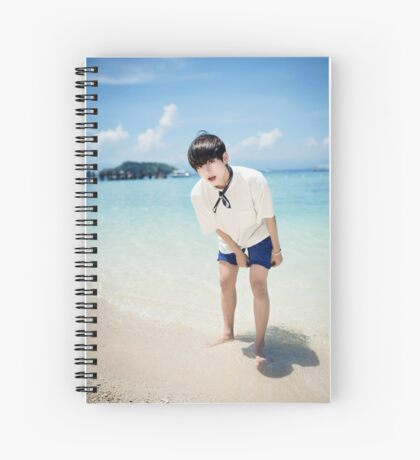 V BTS Spiral Notebook