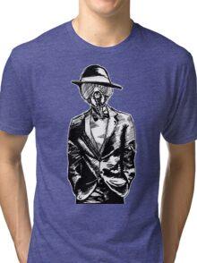 FlyFace - Black & White Tri-blend T-Shirt