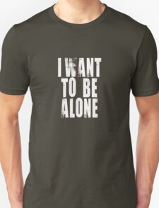 Grand Hotel - I Want To Be Alone T-Shirt