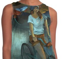 Gone Fishing Contrast Tank
