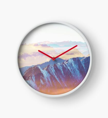 Sunshine Glory #redbubble #lifestyle Clock