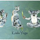 Koala Yoga Positions by didielicious
