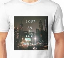Yeezy Series by Ryan Najjar-Lost In The World Unisex T-Shirt