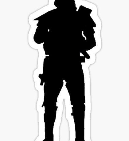 death trooper  Sticker