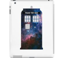 Space Tardis 1 iPad Case/Skin