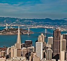 Urban Dimensions Bay Area I by David  Perea
