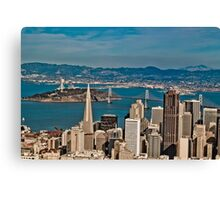 Urban Dimensions Bay Area I Canvas Print