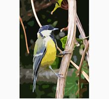 "Birds story, "" fawn paint Picasso ! "" 6 (c) (h) the Blue Tit - Olao-Olavia by Okaio Créations Unisex T-Shirt"
