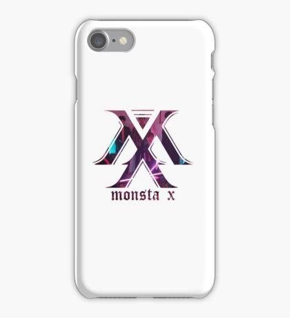 monsta-x lost logo iPhone Case/Skin