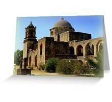 Mission San Jose in San Antonio Greeting Card