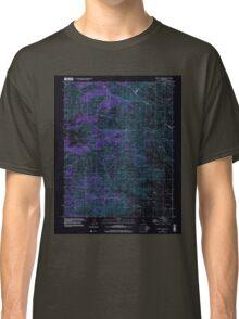 USGS TOPO Map California CA Cerro Colorado 100033 2000 24000 geo Inverted Classic T-Shirt