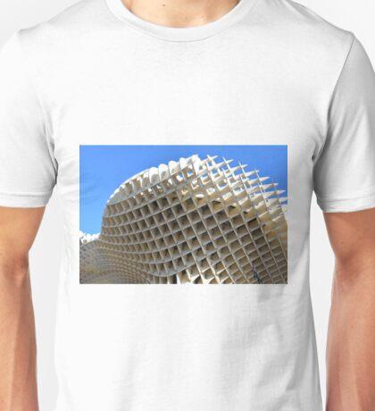 Detail of Metropol Parasol building from Seville, Spain. Unisex T-Shirt