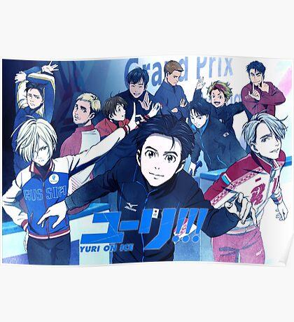 Yuri on ice  Poster