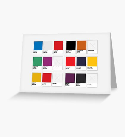 The Colorists Greeting Card